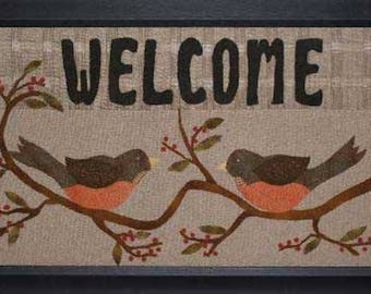 """Pattern: """"Welcome"""" quilt pattern by Geoff's Mom Pattern Co."""