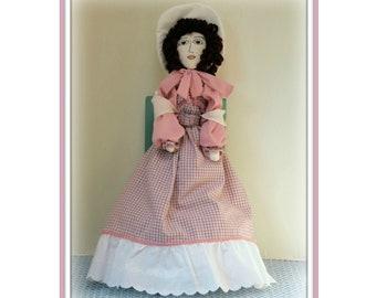 Swing Sweetly Annabelle Colonial Boudoir Art Doll E-Pattern