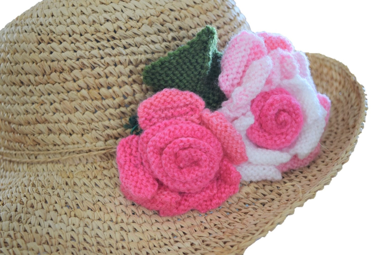 Magnificent Knit Rose Pattern Image - Blanket Knitting Pattern Ideas ...