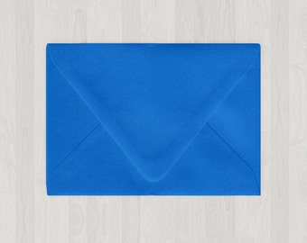 10 A9 Envelopes - Euro Flap - Blue - DIY Invitations - Envelopes for Weddings and Other Events
