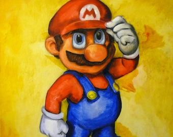 Super Mario (ART PRINT)