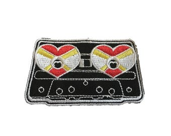 Vintage Cassette Love Patch