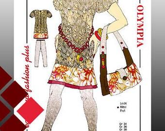 Patterns, 0909, dress and leggings (1116)