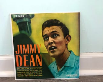 """Jimmy Dean """"And The Town & Countrymen"""" vinyl record"""