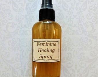 Feminine Healing Spray   Vaginitis Spray, Postpartum Spray, Herbal Yoni Spray, Feminine Hygiene Spray, Feminine Itching Relief, Yoni Aid