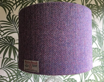 Tweed lampshade etsy harris tweed handmade lampshade various sizes and coloured inner linings mozeypictures Images