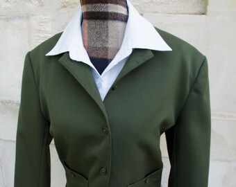 Khaki style short jacket 1940