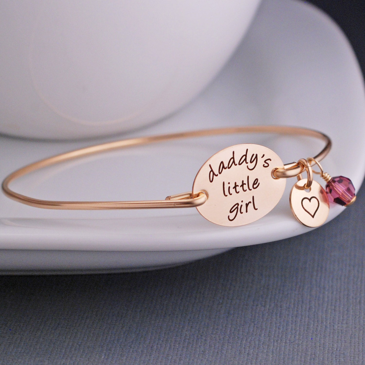 Daddys Little Girl Bracelet Jewelry for Daughter from