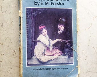 Vintage A Room With A View by E.M. Forster Book Books