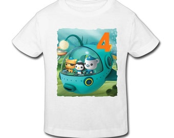 Octonauts birthday etsy for Custom shirts fast delivery