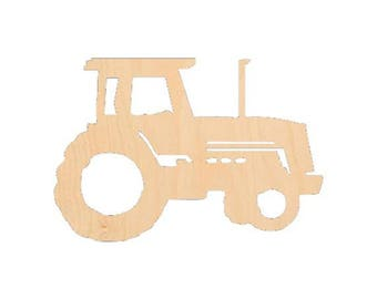 Tractor - Laser Cut Shapes - LCSH-083