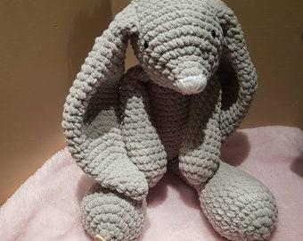 Handmade crocheted soft bunny rabbit