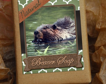 BEAVER SOAP ~~ funny gift, Natural soap, vegan soap, handmade soap, gag gift, gifts under 10, bush, mothers day gift, funny gifts, dirty hoe