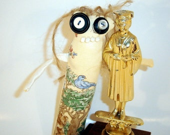Miz Sharron - ooak Skaerrenvolk cloth art doll