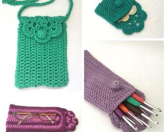 Floretta Bag, Purse & Case - Crochet PDF Pattern