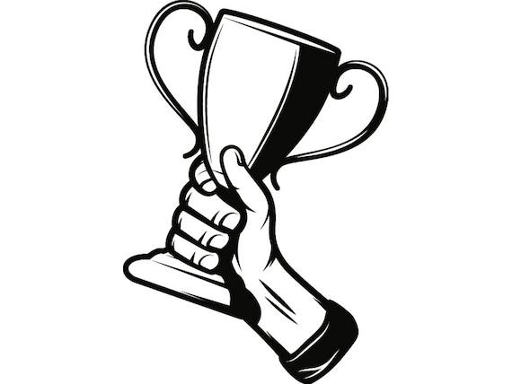 trophy winner prize victory award cup champion sport achievement rh etsystudio com winter clip art free images winter clip art borders