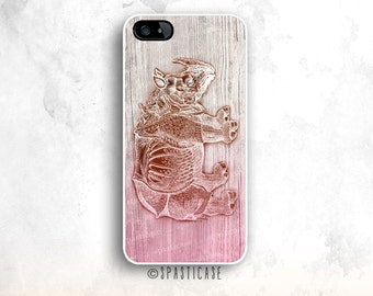 iPhone 6S Case Animal, Wood iPhone 6S Case, Rhinoceros iPhone 6 Case, iPhone 5C Wood Case, iPhone 6 Plus Case, Rhino iPhone 5S, iPhone Case