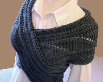 Knitting Pattern Knit Sweater Vest  Waistcoat pattern Pattern in ENGLISH ONLY