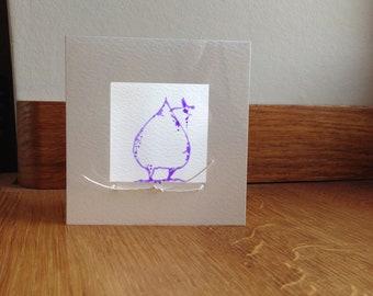 Purple Silly Chicken