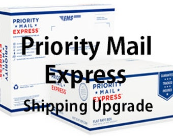Priority Mail Express Upgrade from Regular Priority Mail Shipping