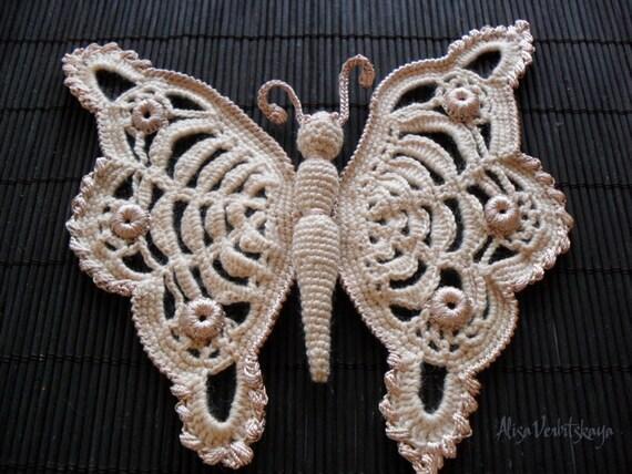Häkeln Sie Muster Muster Schmetterling häkeln Anleitung Blume