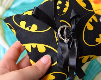 Batman Ring Pillow