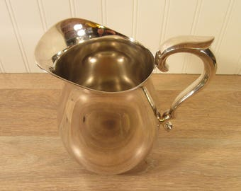 Reed & Barton Silver Plated pitcher- great condition, beautiful and shiny- silver pitcher- silver serving