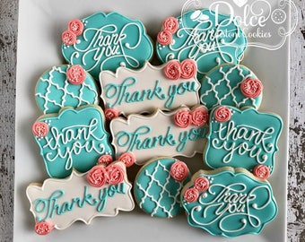 Thank You Favor Cookies