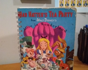 The Mad Hatter's Tea Party Notebook