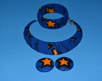 Blue Ankara 3 Piece Set