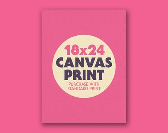 "Canvas Print 18x24"""