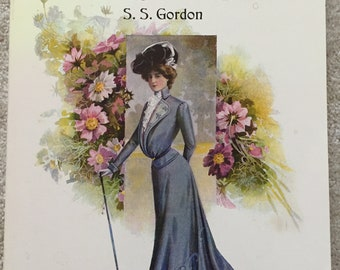 Turn-of-the-Century Fashion Patterns and Tailoring Techniques by S.S. Gordon