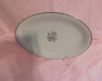 """Vintage Noritake China Rosales Pattern  1956-1971 Serving Platter med. 12"""""""