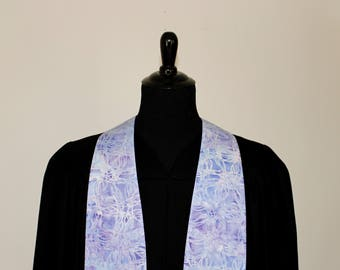 "Clergy Stole, Lavender #287, Pastor Stole, Minister Stole, 54"" Length, Clergy Wear, Vestments, Church"