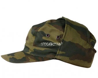 Flora Camouflage Officers Russian Military FIELD COMMANDO CAP Military Surplus