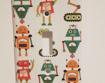 Robot Plastic Wall Plate