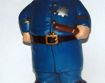 Vintage Alberta's Molds 1972 Old Time Policeman Cop Booze Decanter