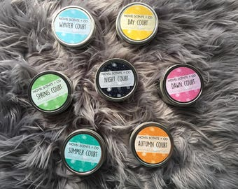 Seven Courts of Prythian - ACoTaR, ACoMaF, ACoWaR and ACoFaS inspired soy candles