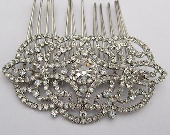 Wedding hair comb wedding headpiece wedding hair accessories wedding hair jewelry wedding hair piece wedding comb bridal hair comb wedding