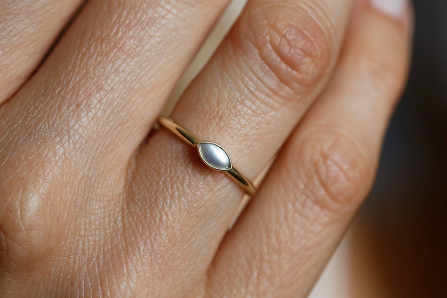 seawater pearls twisted infinity pearl ring engagement halo rose akoya gold diamond