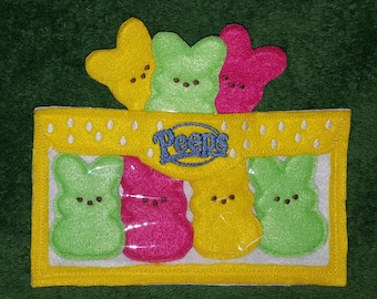 Easter Marshmallow Bunnies Finger Puppet Set