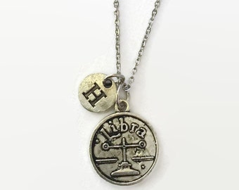Libra Zodiac Jewelry - Libra Astrology Jewelry - Libra - Libra Necklace - Zodiac Jewelry - Mothers Day  Idea - gift under 20 - Zodiac