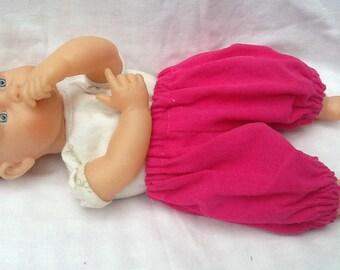 Doll clothe bloomer Millerai fuchia doll 30 cm