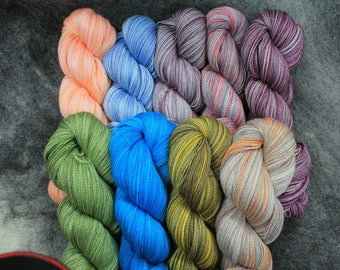 Baby Alpaca/Silk Lace Wt. Yarn (Lots 772 - 780), 800 yd, 4.3 oz