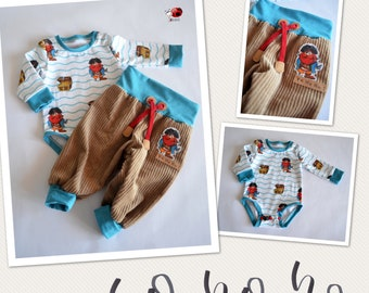 Pirate clothing set for size 6 month