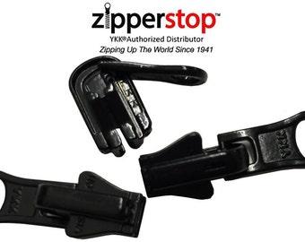 YKK REVERSIBLE Zipper Sliders - YKk #5 Vislon- 3 Per Pack~ ZipperStop Wholesale Authorized Distributor YKK®~Black,Beige,Off White, Red,navy