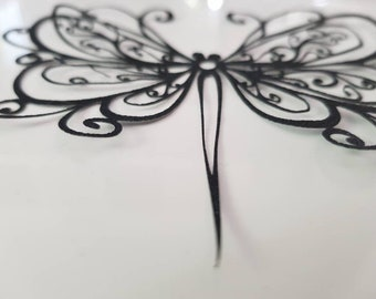 Ornate Butterfly mariposa paper filigree