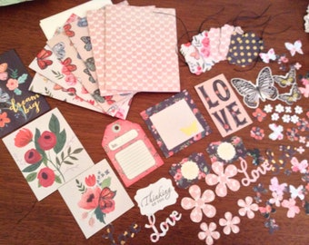 Card making kit etsy do it yourself card making kit spring time butterflies solutioingenieria Gallery