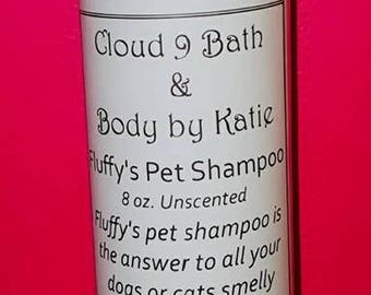 Fluffy's Pet Shampoo