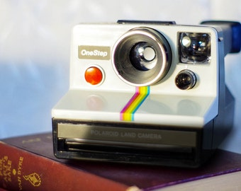 This Camera NOT FOR SALE! Art Photography, Polaroid Rainbow, Antique Camera, Retro, Still Life, Fine Art, Vintage Camera, Polaroid, Shabby